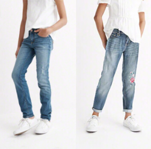 Buy one get one 50% offabercrombie kids jeans sale