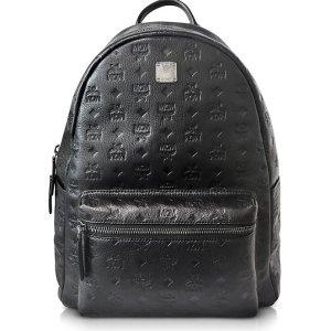 $488.64(Org.$1018)MCM Ottomar Black Backpack @ FORZIERI