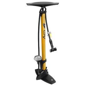 $25BV Bicycle Ergonomic Bike Floor Pump with Gauge & Smart Valve Head