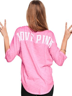 50% OffAll PINK Tees @ Victoria's Secret