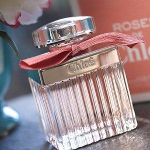 $65(原价$117)+免邮 75mlChloé Roses De Chloé 玫瑰淡香水 大瓶装超值促销