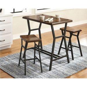 $99.99Deals Spotlight: Dilllan 现代风格 桌椅组合3件套