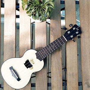 $10.99 (原价$56.65)+包邮免税手慢无:Mugig Ukulele 17寸便携式夏威夷小吉他/乌克丽丽