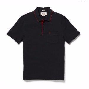 $5.6白菜价:Original Penguin 男士经典纯黑色POLO衫