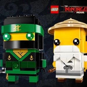 $7.99 (原价$9.99)  包邮黒五价:乐高LEGO家族 超萌BrickHeadz方头仔系列