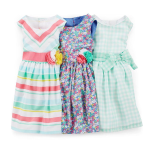 Ending Soon: 60-70% Off + Extra 25% Off $40 + Free ShippingEaster Dress Up Flash Sale @ Carter's