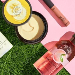 Up to 30% Off+ $10 Off $50Your Purchase @ The Body Shop