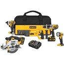 Today Only: $399 DEWALT DCK592L2 20V MAX Premium 5-Tool Combo Kit @ Amazon