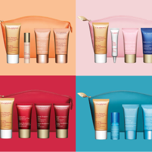 FREE 5-Piece Anti-Aging GiftWith any $100 order @ Clarins