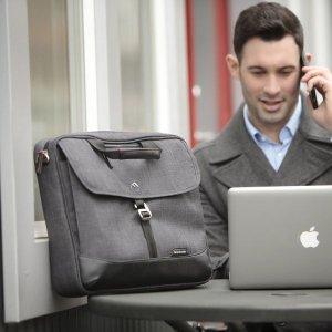 $29Brenthaven Collins Men's Slim Briefcase, Graphite