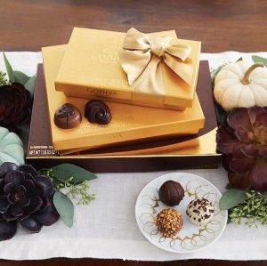 7.5折 + 满$25包邮Godiva 精选巧克力特卖 多种礼盒组合选择