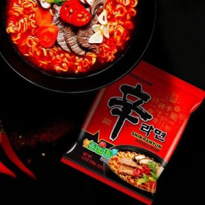 $16.23 Nongshim Shin Noodle Ramyun Gourmet Spicy, 4.2-oz. Packages, 20-Count