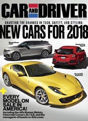 $12(原价$47.88)4年48期 Car and Driver 杂志订阅