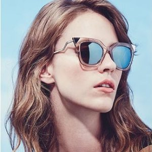 部分7折+额外7.5折Fendi, Gucci, Chloe等大牌墨镜热卖,$267收Fendi猫眼墨镜