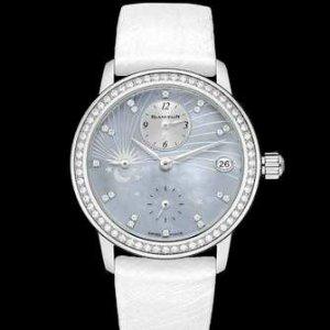 $12996BLANCPAIN Women's Women Double Time Zone Watch 3760-1954L-95A