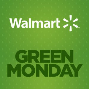 Up to 70% off Green Monday Sale @ Walmart