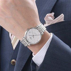 $1279LONGINES Elegant Collection Watch Automatic Men's Watch L48104126  No. L4.810.4.12.6