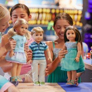 低至4折$2起  满额一口价运费American Girl美国娃娃官网 精选娃娃配件促销