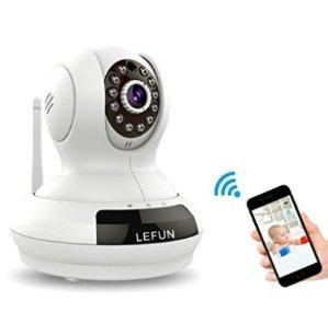 $29.99LeFun 乐视 720p 室内350度全方位摄像头 宝宝监控器