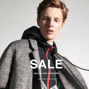 Up to 60% OFFZARA Men's Clothing after-Christmas Sale