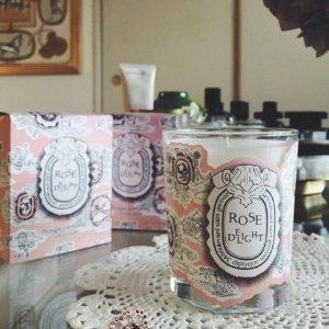 情人节好礼 仙女系包装Diptyque 2018年情人节限量玫瑰系列