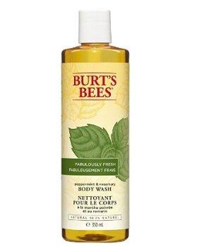 $3.79(原价$9.99)Burt's Bees 薄荷迷迭香滋润沐浴露350ml