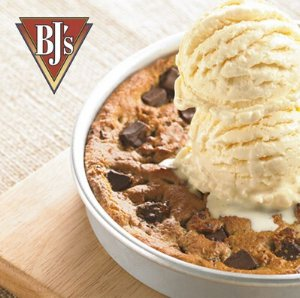Free Pizookiewith purchase of $9.95+ @ BJ's Restaurant