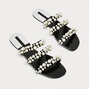 $29.99Zara Pearly Strappy Sandals