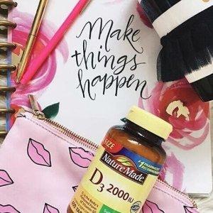 买两瓶额外7折 NM和拜耳都参加手慢无:Amazon精选健康类营养品新年大促 孕妇DHA VC片 蛋白粉超低价