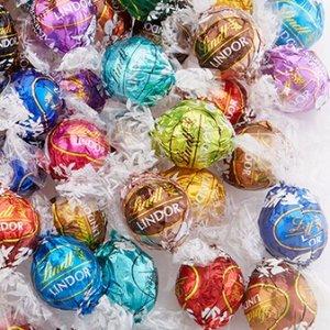 """仅$0.25每颗任选100颗 """"专属你"""" 的瑞士莲巧克力"""