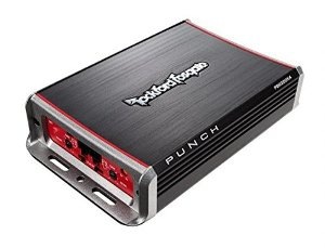 $89Rockford Fosgate PBR300X4 Punch BRT 300-Watt Ultra Compact 4-Channel Amplifier