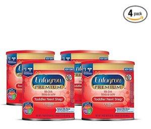 $38.99Enfagrow PREMIUM Toddler Next Step Natural Milk Powder, 24 Ounce Can, Pack of 4
