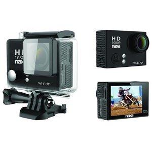 $19.99Naxa 12MP 全高清1080p Wi-Fi 防水运动相机