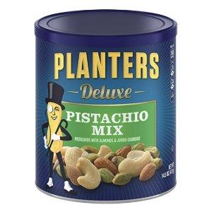 $7.19 Planters Pistachio Mix, Deluxe, 14.5 Ounce