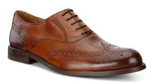 $110包邮ECCO 男士英伦款雕花牛津皮鞋 1日特卖