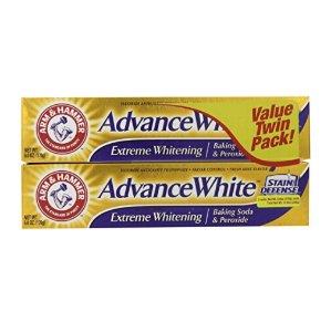 $5.99 凑单品Arm & Hammer 小苏打亮白牙膏 6 盎司 2个装