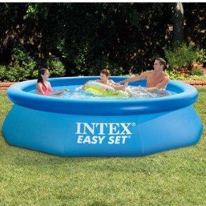 $24.98Intex Easy Set 10尺x30寸充气泳池