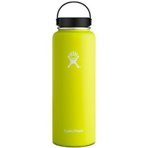 $21.39Hydro Flask 宽口不锈钢户外专用保温壶 40盎司 (亮黄色)