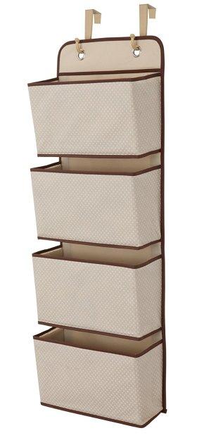$10 (原价$20)销量冠军 Delta Children 4层悬挂式可折叠收纳袋