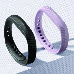 $71.95 (原价$149.95)Fitbit Flex 2 智能运动手环热卖 3色可选 防水健身 记步睡眠提醒