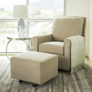 $259Leyla Gliding Chair and Gliding Ottoman
