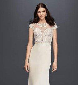 $100 OffRegular Price Designer Wedding Dresses @ David's Bridal