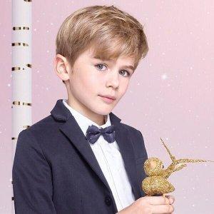 低至6折 冬款史低最后一天:Jacadi 官网 高品质童装圣诞大促 之 小绅士的帅服