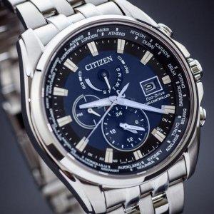 $189Citizen Eco-Drive Atomic Time Clock Synchronized Men's Watch