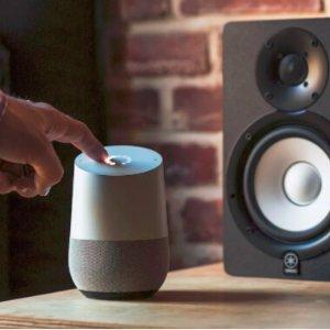 $130.5 (原价$318.9) + 回国可退税Google Home Assist 智能无线蓝牙音箱