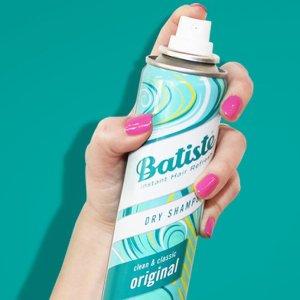 $4.74Batiste 迷你免洗头发喷雾,干洗蓬松洗发水