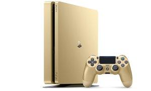 $249Sony PlayStation 4 Slim 1TB Golden Limited Edition