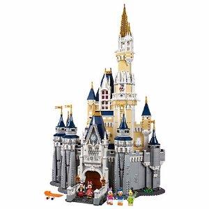 $349.99 包邮 送双重礼LEGO 迪士尼城堡 71040 (4080块颗粒)