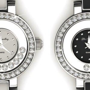 团购价$39(原价$159.9)施华洛世奇元素时尚女表 两色可选