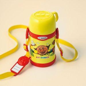 $27.2 / RMB174.6 直邮中美超可爱 ZOJIRUSHI 象印 面包超人 儿童 保冷保温杯 450ml 热卖